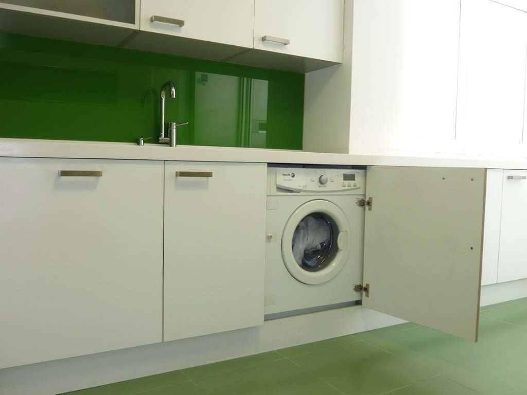 Muebles de cocina carpinter a pallas deus for Mueble para lavadora y lavavajillas