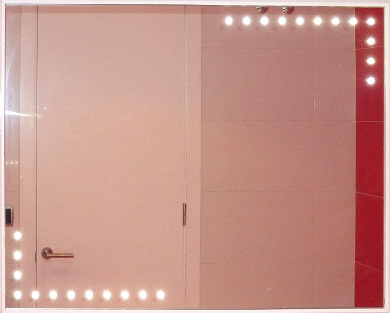 Iluminacion Baño Maquillaje:Espejo de baños con leds