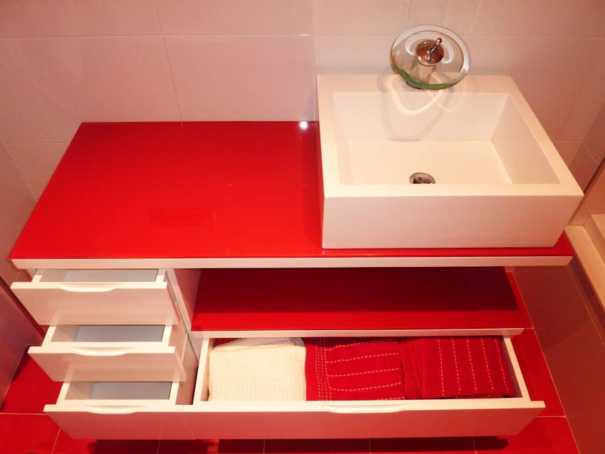 Muebles De Baño Rojos:Cajonera mueble de baño