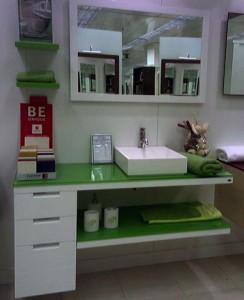 Mueble de baño El corte inglés.