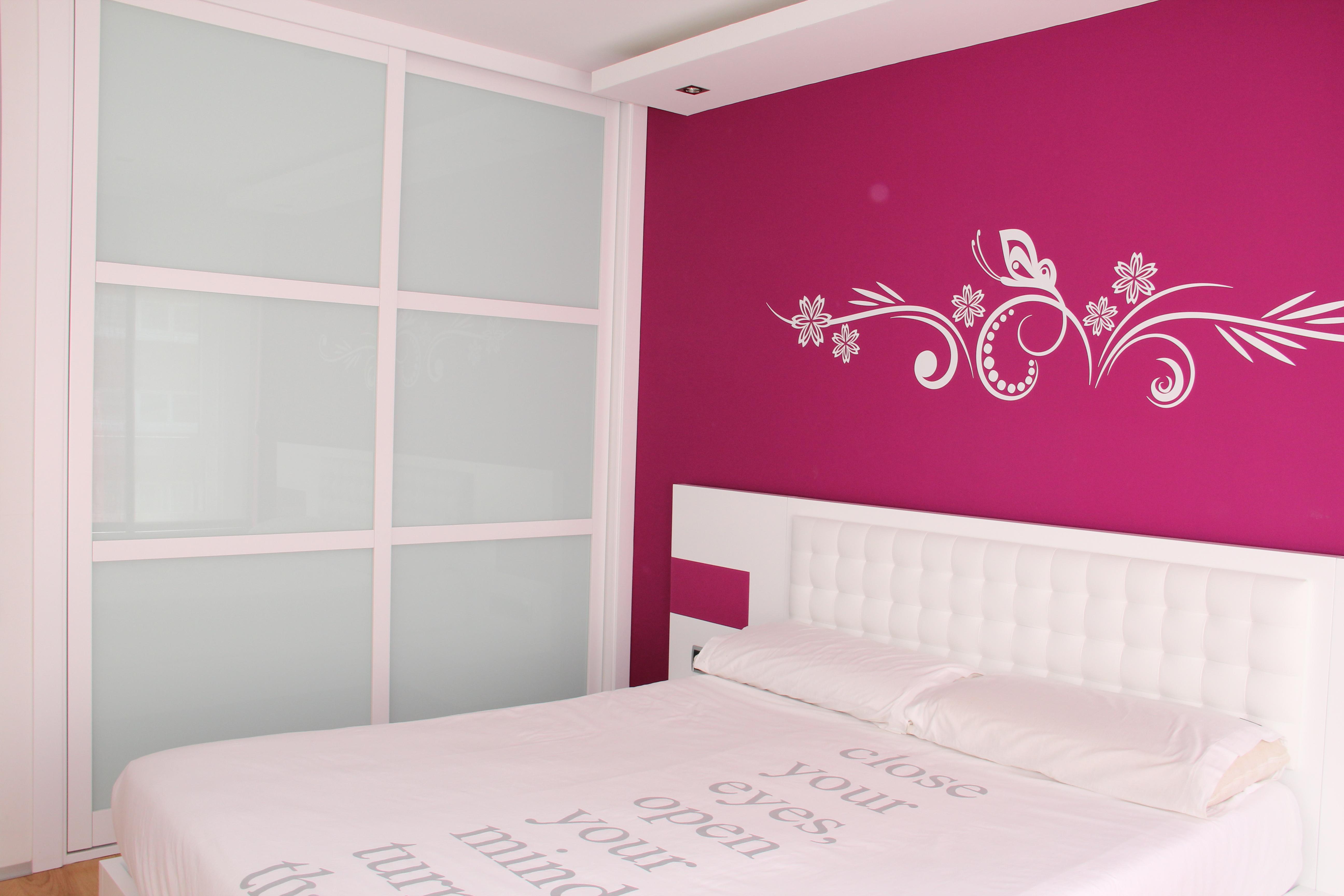 Dormitorio lacado en blanco carpinter a pallas deus - Dormitorios lacados en blanco ...