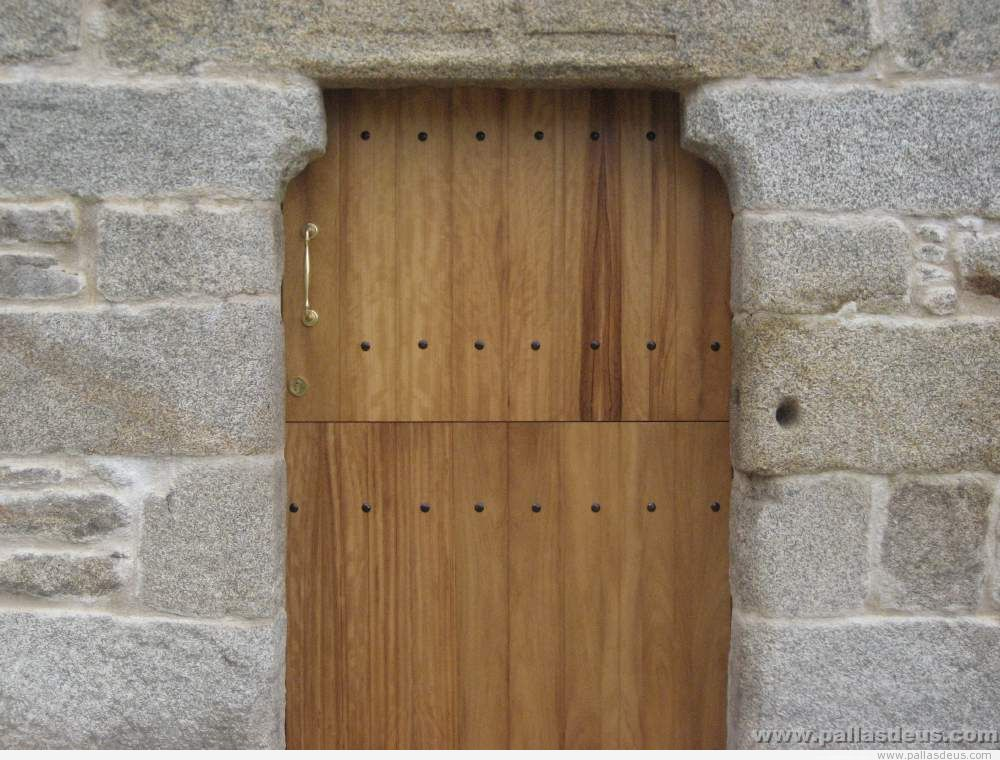 Puertas archives carpinter a pallas deuscarpinter a - Como hacer una puerta rustica ...