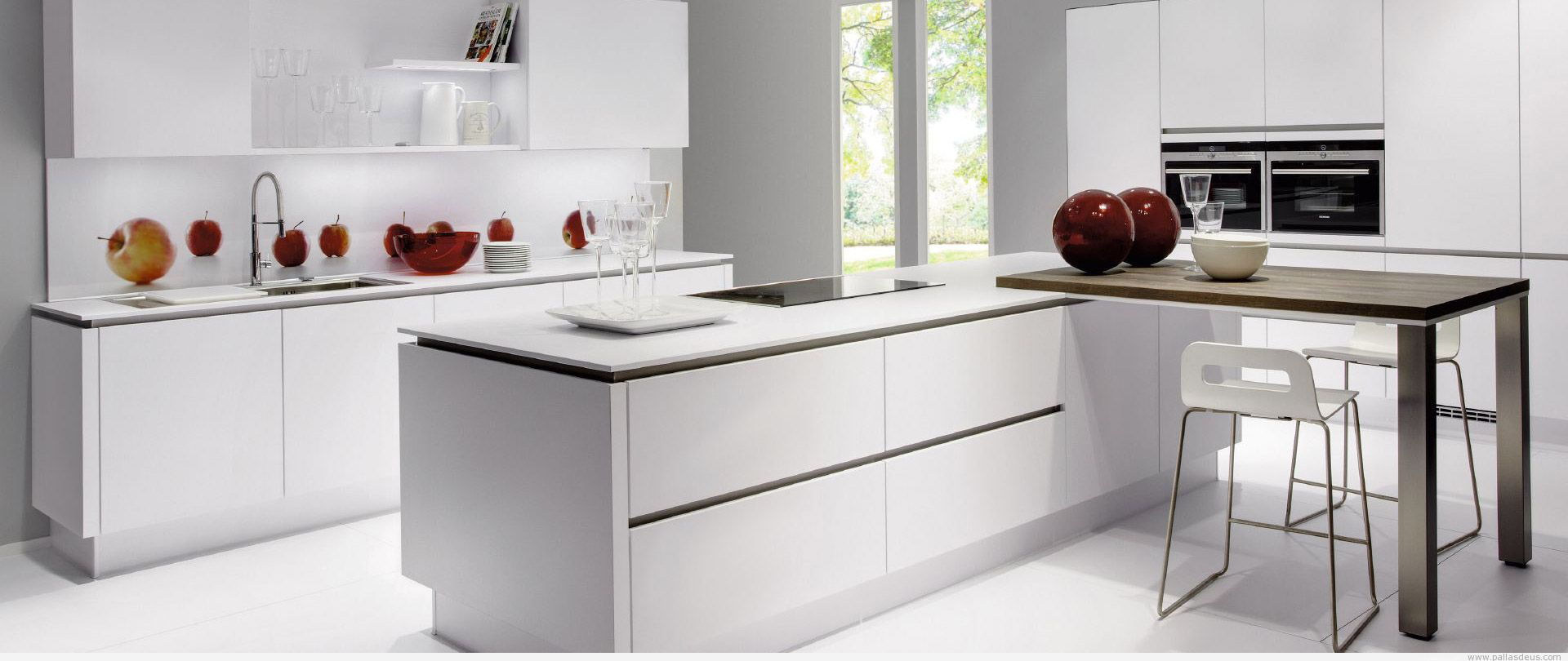 cocinas con cualquiera de nuestros modelos de puertas de cocina de
